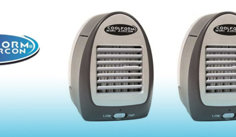 Coolform Mini Aircon visto in tv