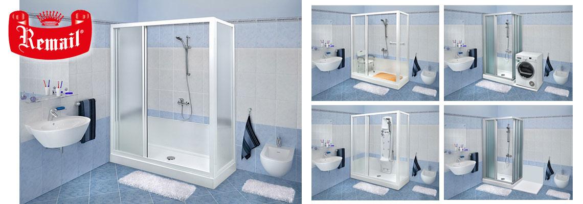 Remail trasformazione vasca in doccia visto in tv - Remail vasche da bagno ...