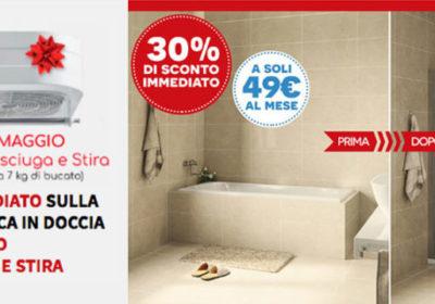 Remail vasca doccia + asciuga stira